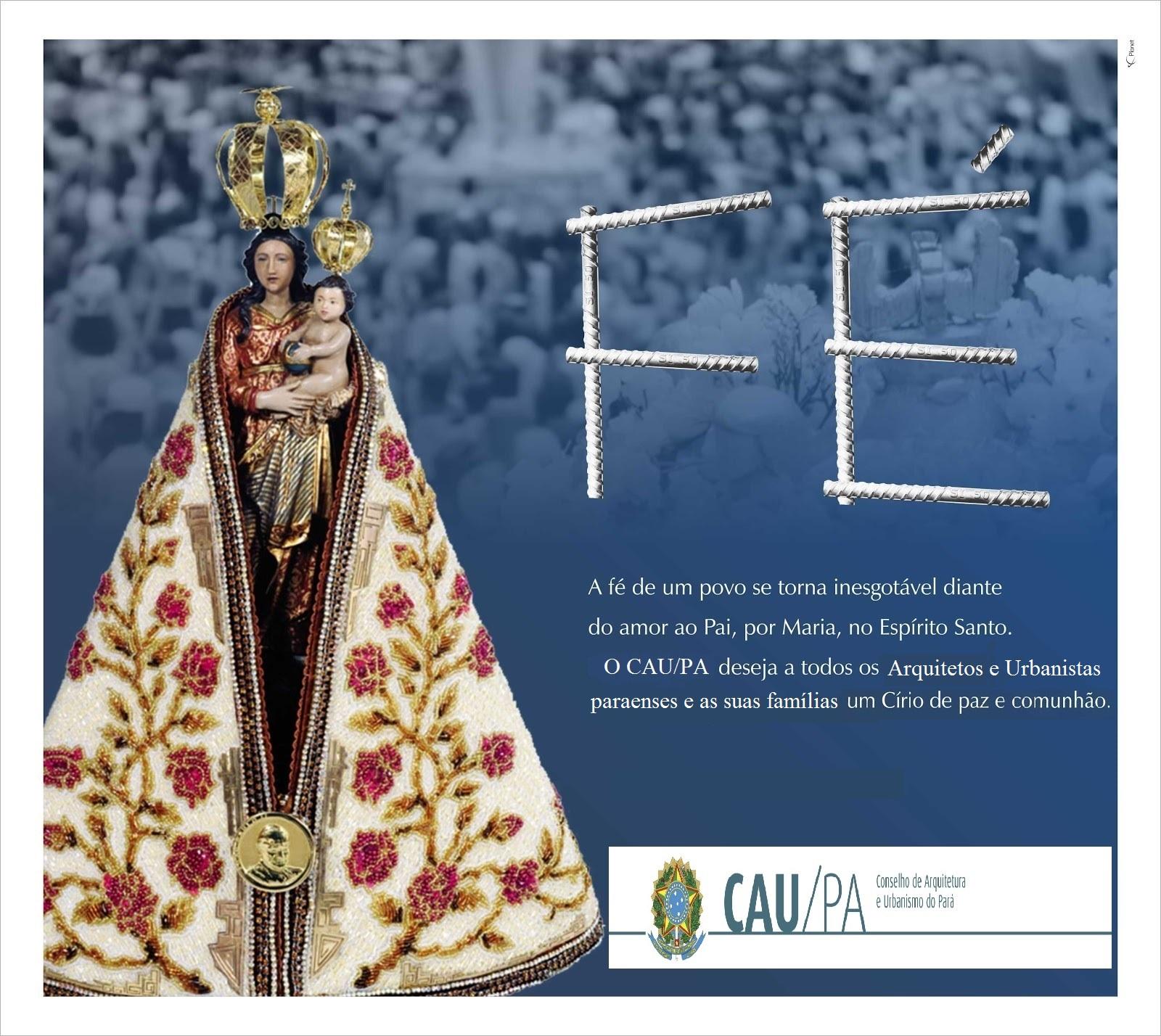 Anuncio Cirio 2012 - CAU/PA